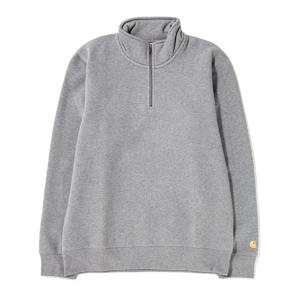 Style code I026390FW18DGY. Carhartt WIP Chase Highneck Sweat / Dark Grey Heather