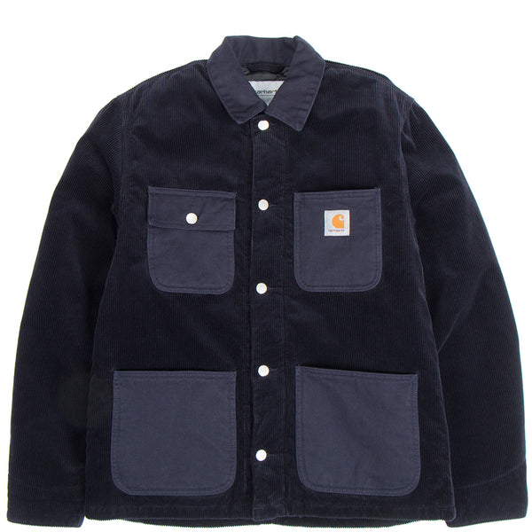 Carhartt WIP Michigan Coat / Dark Navy Rinsed