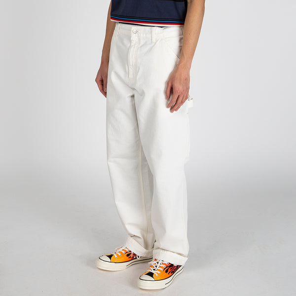 Carhartt WIP Single Knee Pant / Off White