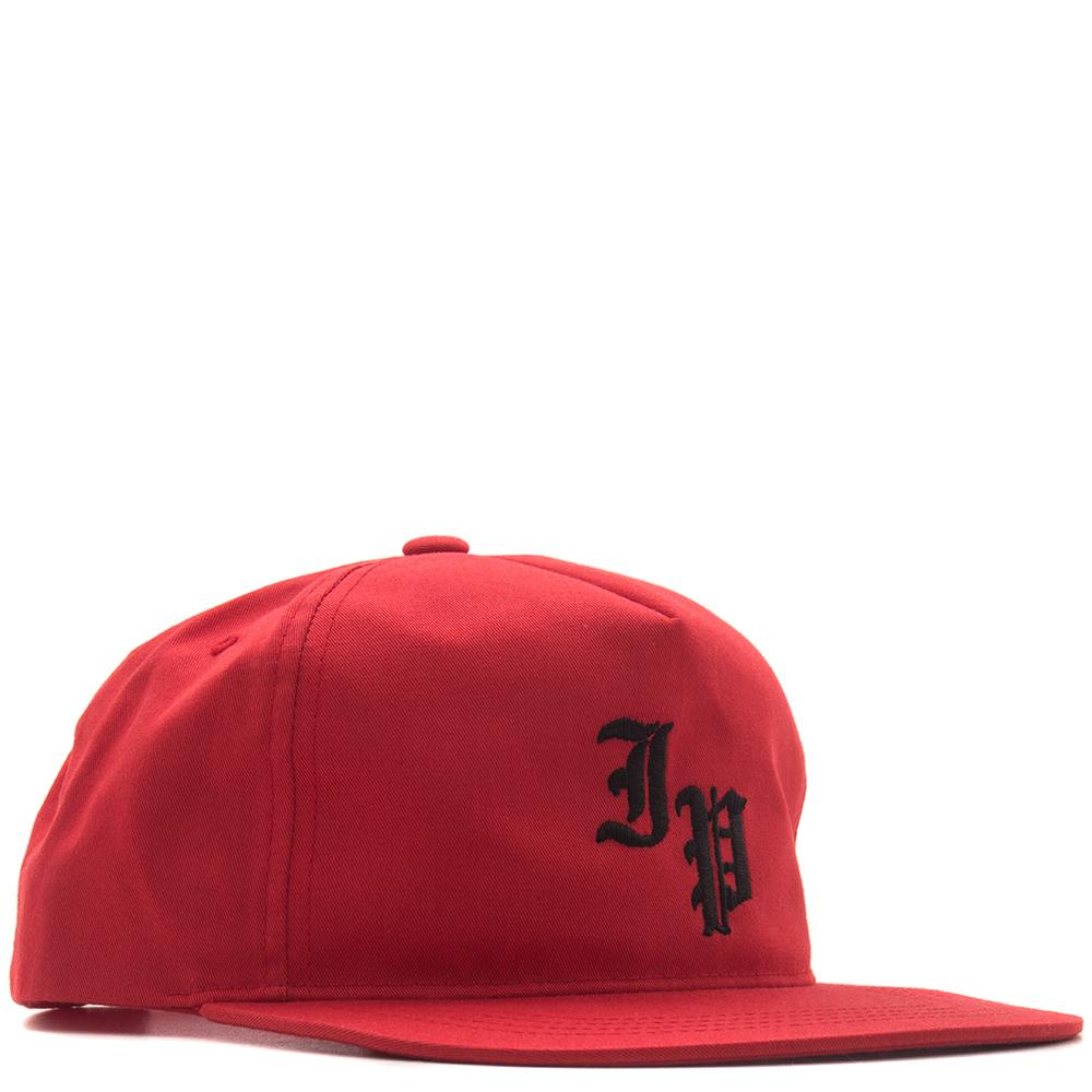 Style code IPH0005RED. IGNORED PRAYERS SLAUSON 5 PANEL SNAPBACK / RED