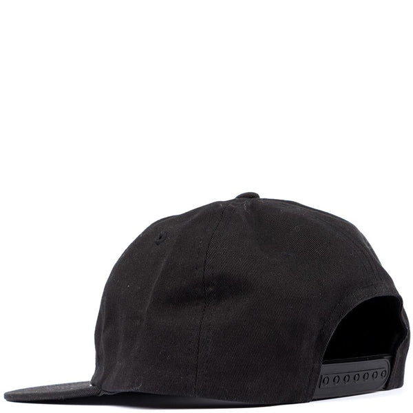 Style code IPH0006. Ignored Prayers Judgment 6 Panel Hat / Black