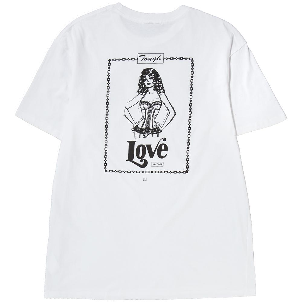Ignored Prayers Tough Love T-Shirt / White
