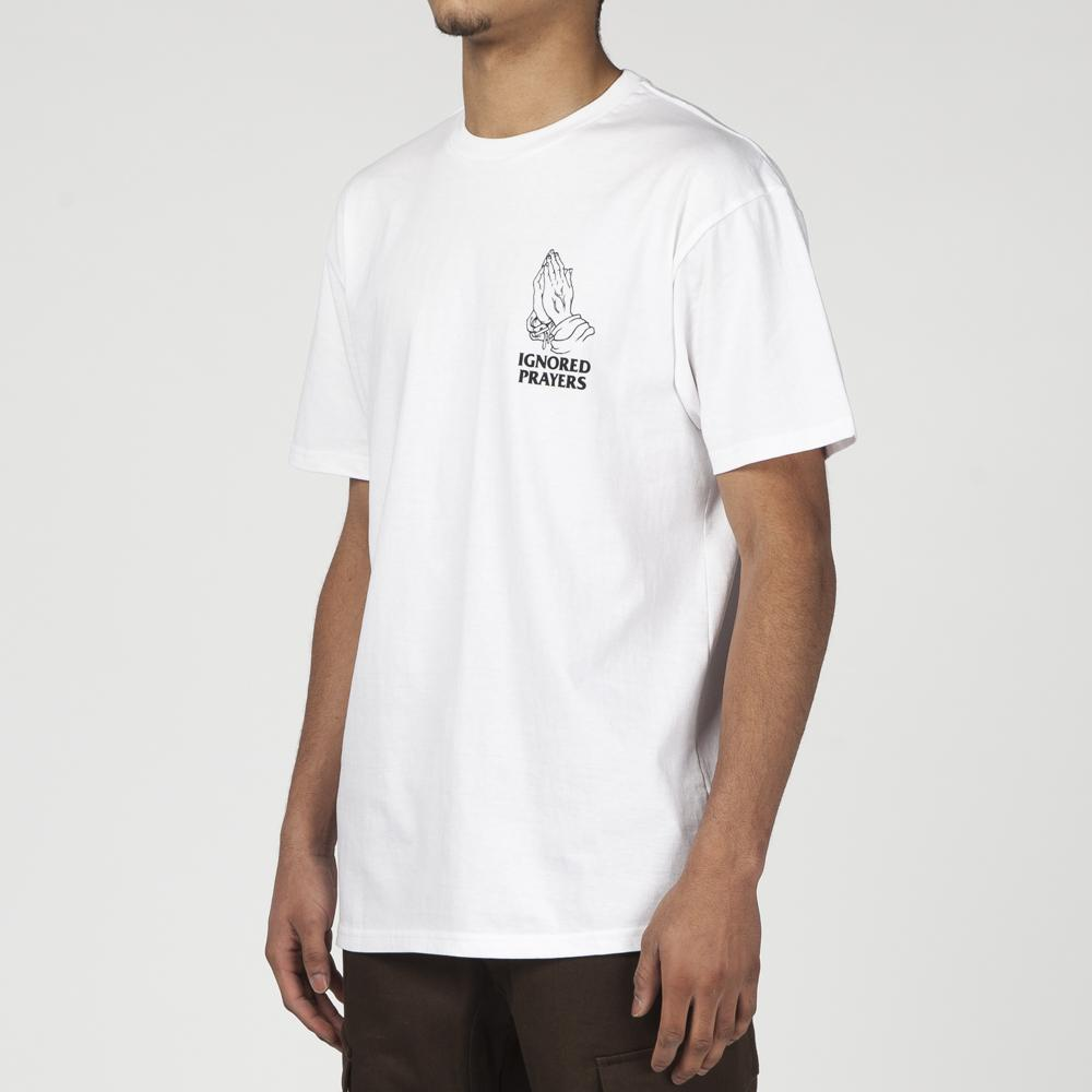 IGNORED PRAYERS OG HANDS T-SHIRT / WHITE
