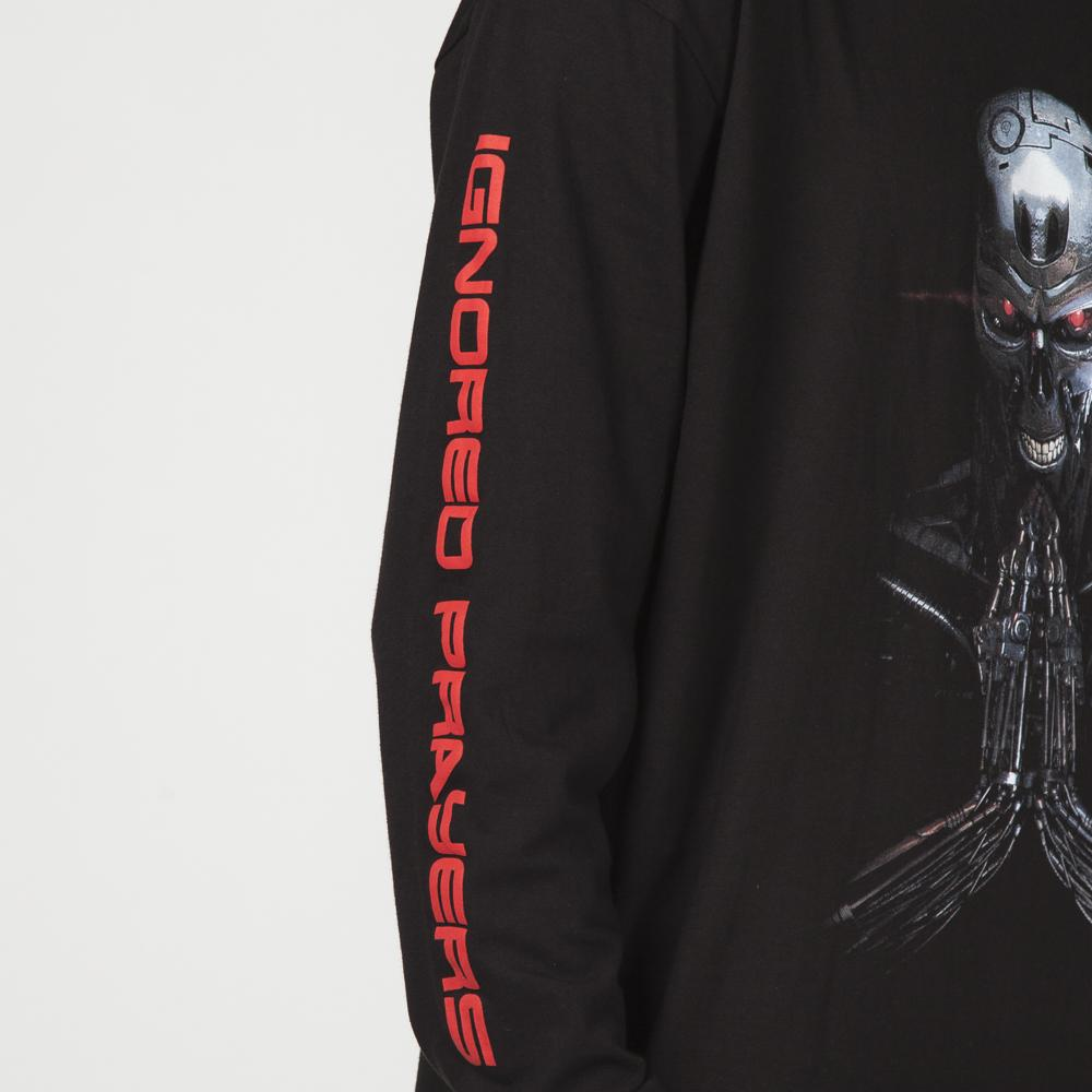 IGNORED PRAYERS JUDGMENT LONG SLEEVE T-SHIRT / BLACK