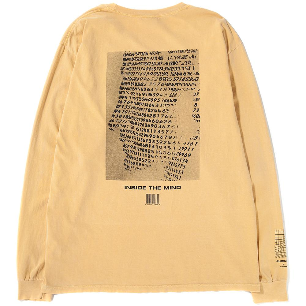 Style code IPT0033. Ignored Prayers Inside the Mind Long Sleeve T-shirt / Mustard