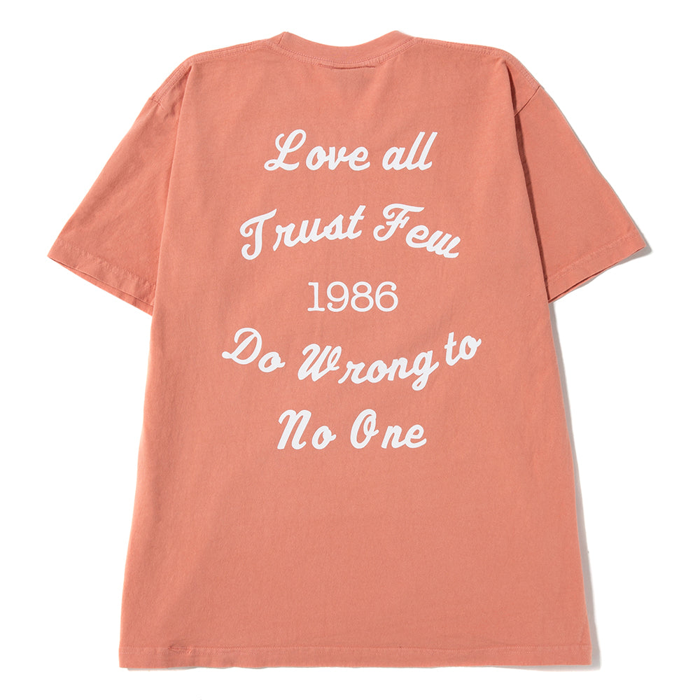 Ignored Prayers Love All T-shirt / Coral