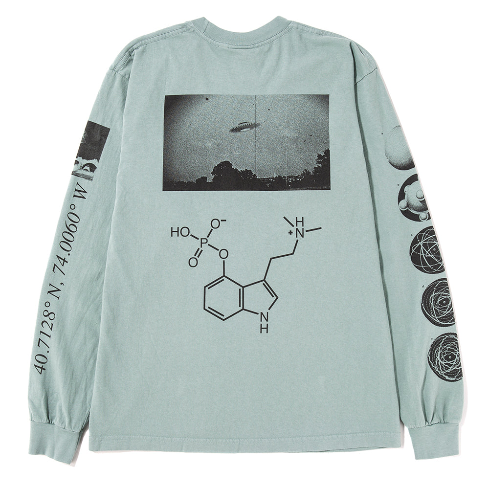 Ignored Prayers Level Up Long Sleeve T-shirt / Atlantic Green
