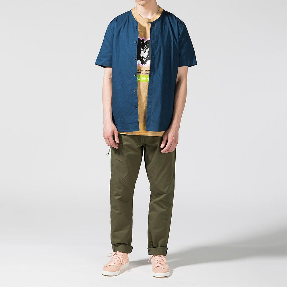 DENIM BY VANQUISH & FRAGMENT TAPERED CHINO PANTS / OLIVE