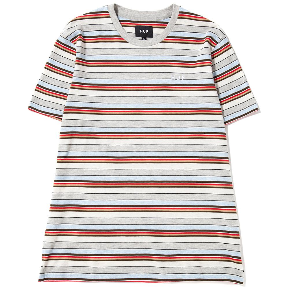 HUF Off Shore Stripe T-Shirt / Sky Blue