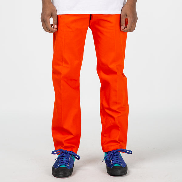 Brain Dead Canvas Carpenter Pant / Orange - Deadstock.ca
