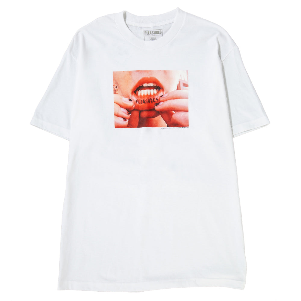 Style code L18P101033. Pleasures Tattoo T-shirt / White