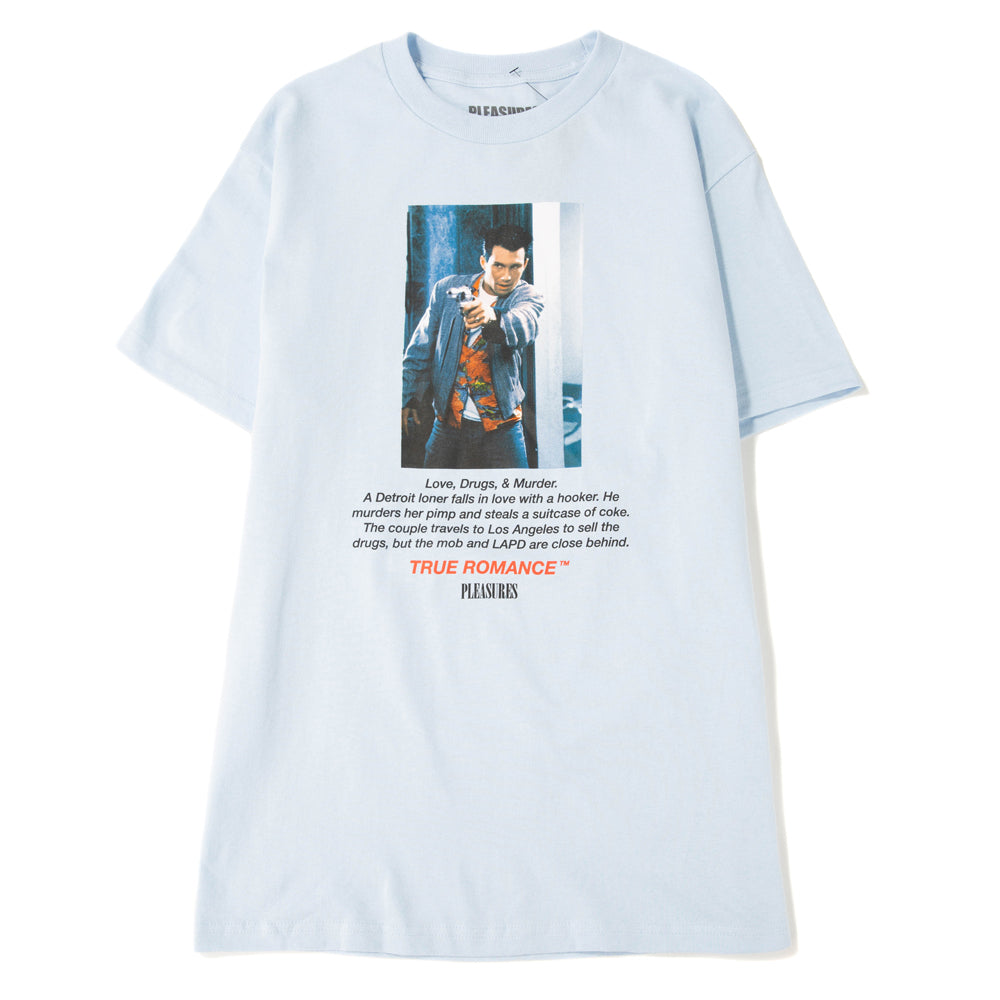 Pleasures x True Romance Clarence T-shirt / Powder Blue