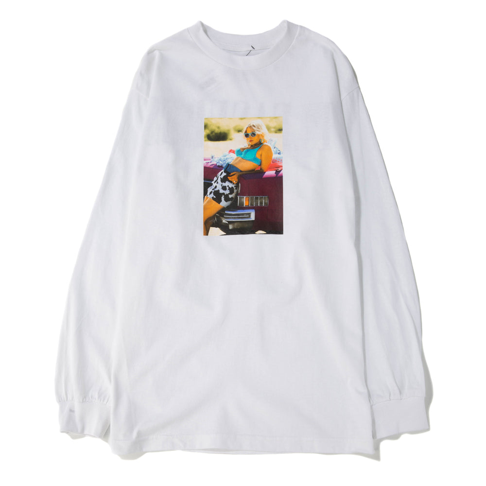 Pleasures x True Romance Alabama Long Sleeve T-shirt / White