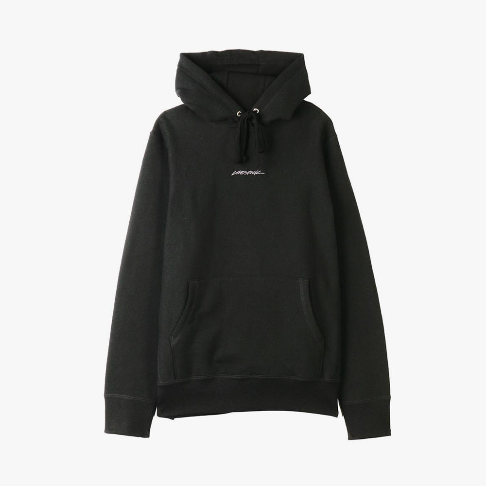 Livestock 400 GSM Embroidered Pullover Hoodie / Black