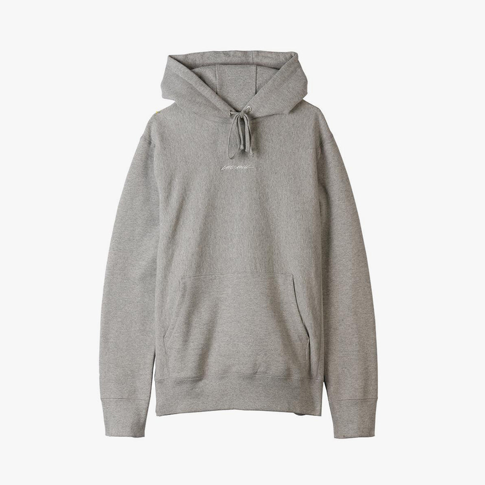 Livestock 400 GSM Embroidered Pullover Hoodie / Heather Grey