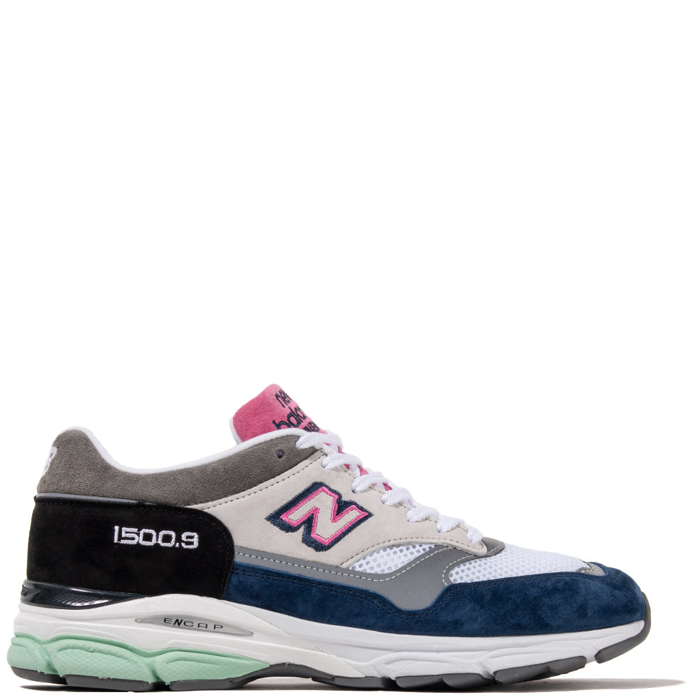 New Balance M1500.9FR Made In The UK White / Navy - Deadstock.ca