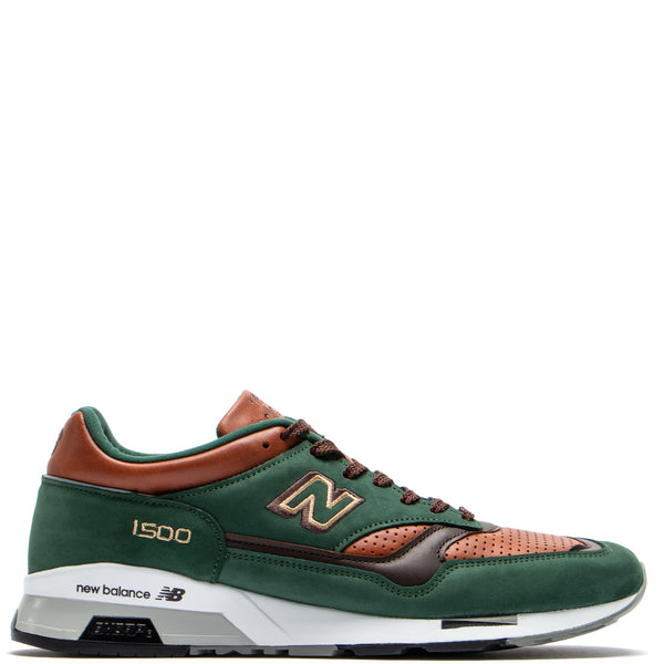 Style code M1500GT. New Balance M1500GT Made in UK Dark Green / Tan