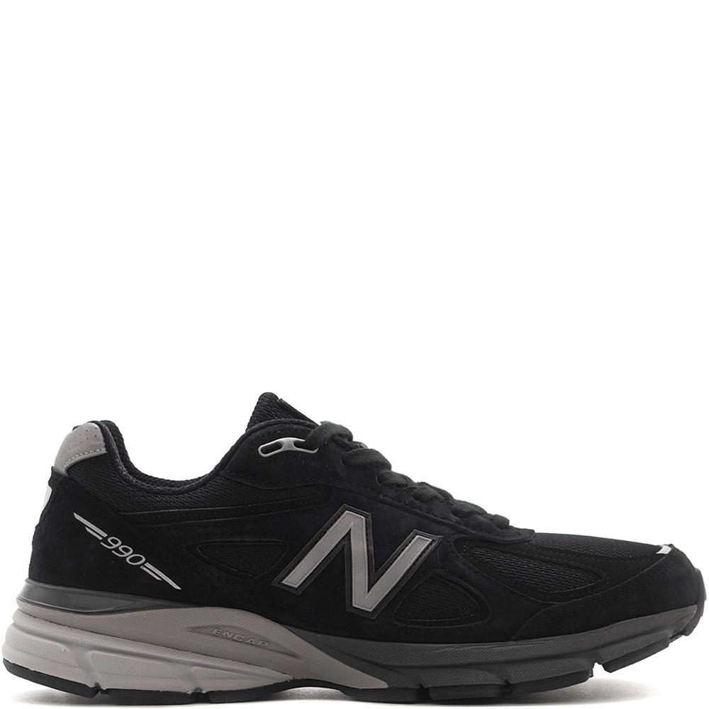 style code M990BK4. NEW BALANCE M990BK4 MADE IN THE USA / BLACK