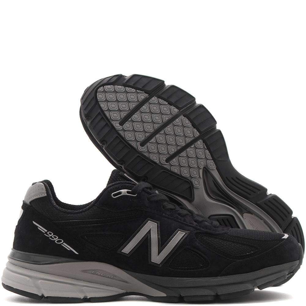 NEW BALANCE M990BK4 MADE IN THE USA / BLACK