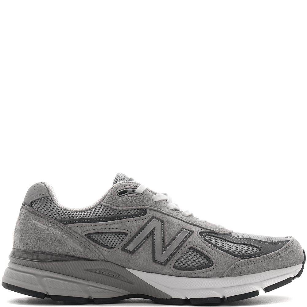 style code M990GL4. NEW BALANCE M990GL4 MADE IN THE USA / GREY