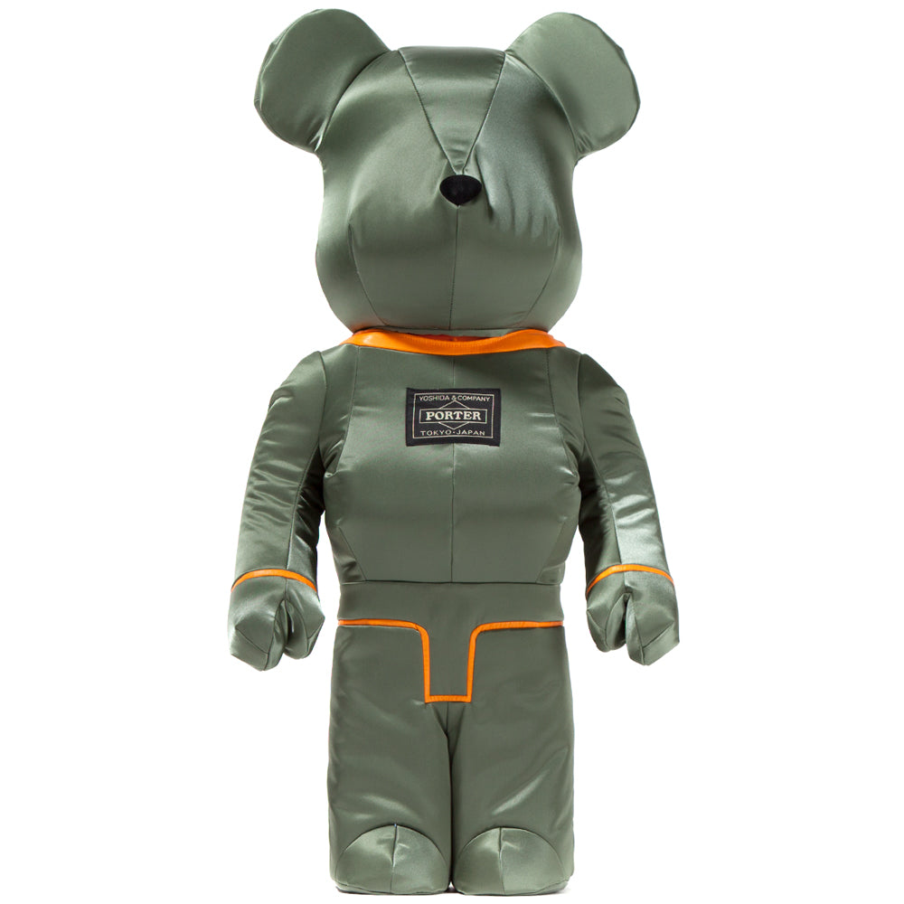 Medicom Toy BE@RBRICK x PORTER Tanker Special Edition 1000% / Sage Green - Deadstock.ca