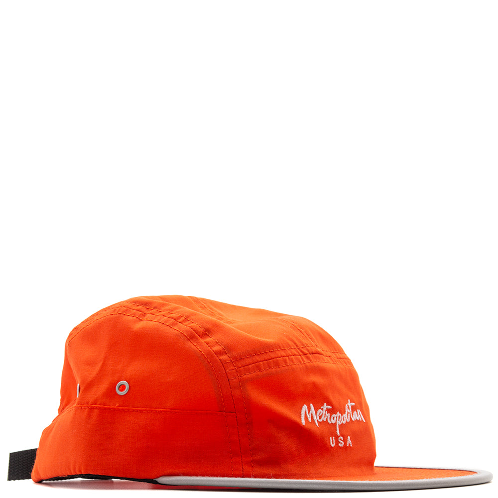 Style code METRO308. Metropolitan Reflective Brim Volley / Orange