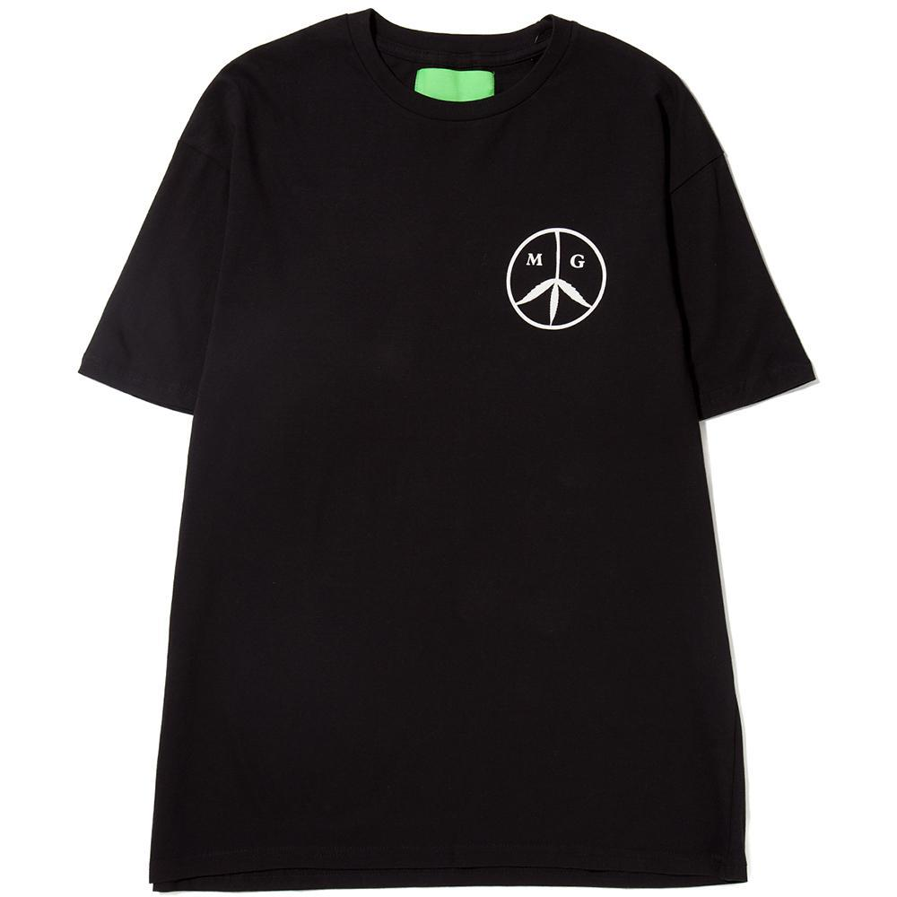 MISTER GREEN PEACE LOGO T-SHIRT / BLACK