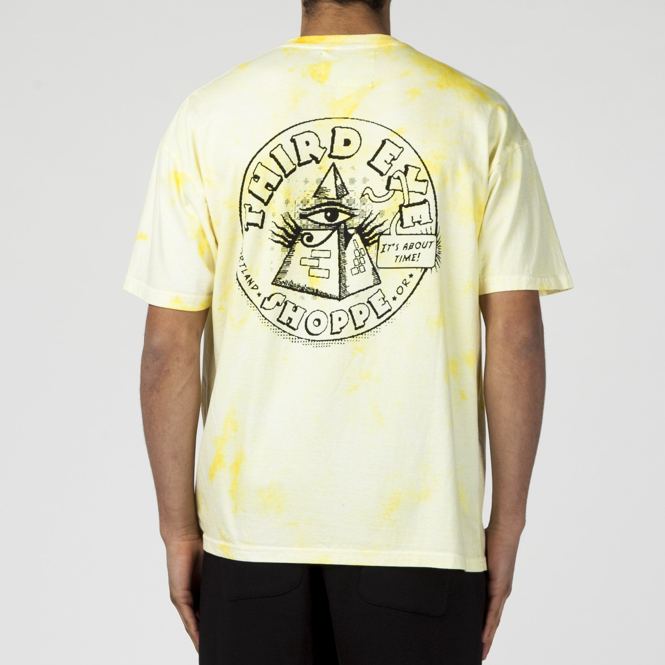 MISTER GREEN 3RD EYE T-SHIRT / TIE-DYE