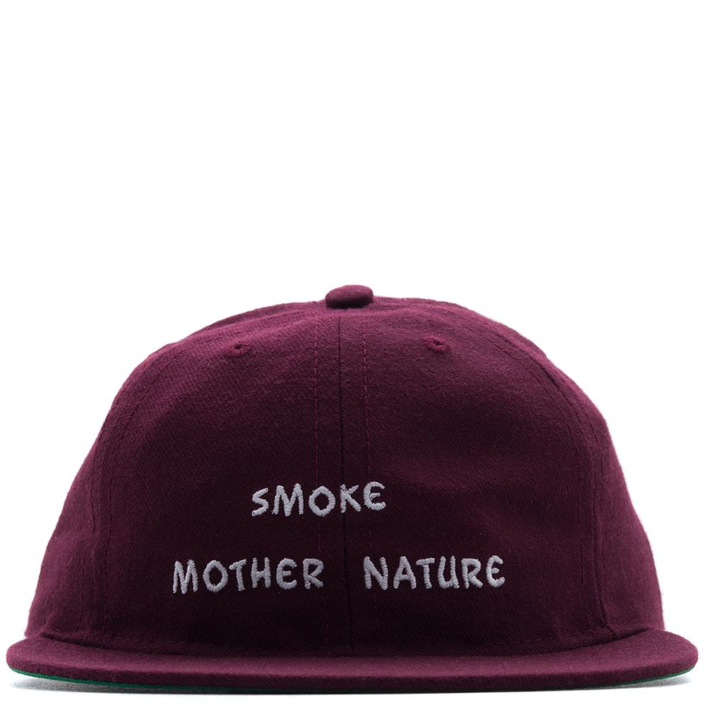 MISTER GREEN SMOKE MOTHER NATURE CAP / MAROON