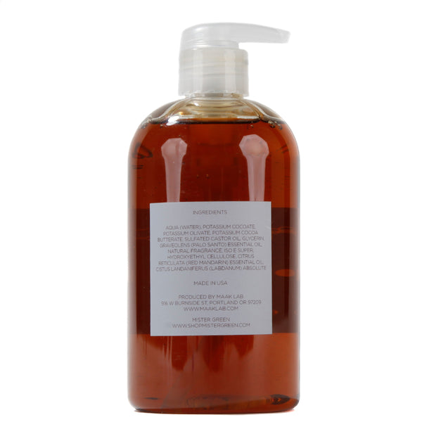 Mister Green Fragrance No.1 - Hippie Shit Castile Oil Body Soap - 355ml - Deadstock.ca