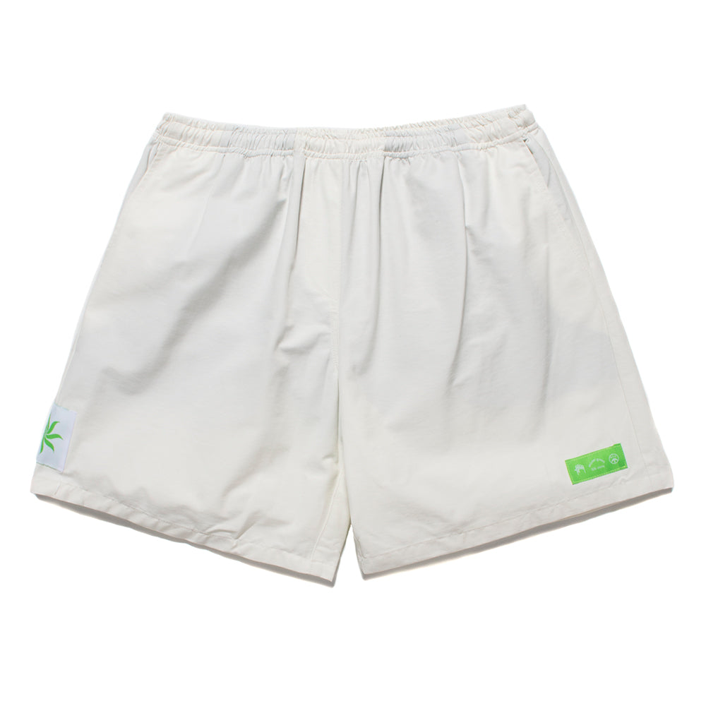 Mister Green River Baggy Shorts / White