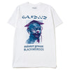 Mister Green x Black Weirdos Ganziiz T-shirt / White - Deadstock.ca