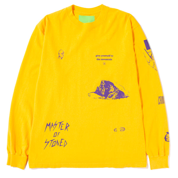Mister Green Multi Long Sleeve T-shirt / Yellow