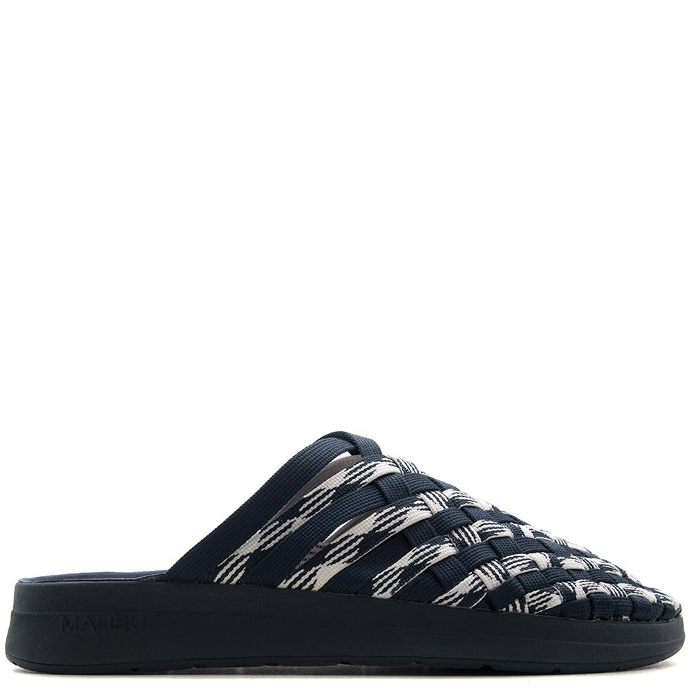 Style code MM1803. MALIBU X MISSONI COLONY NYLON SPACE DYE NAVY / WHITE
