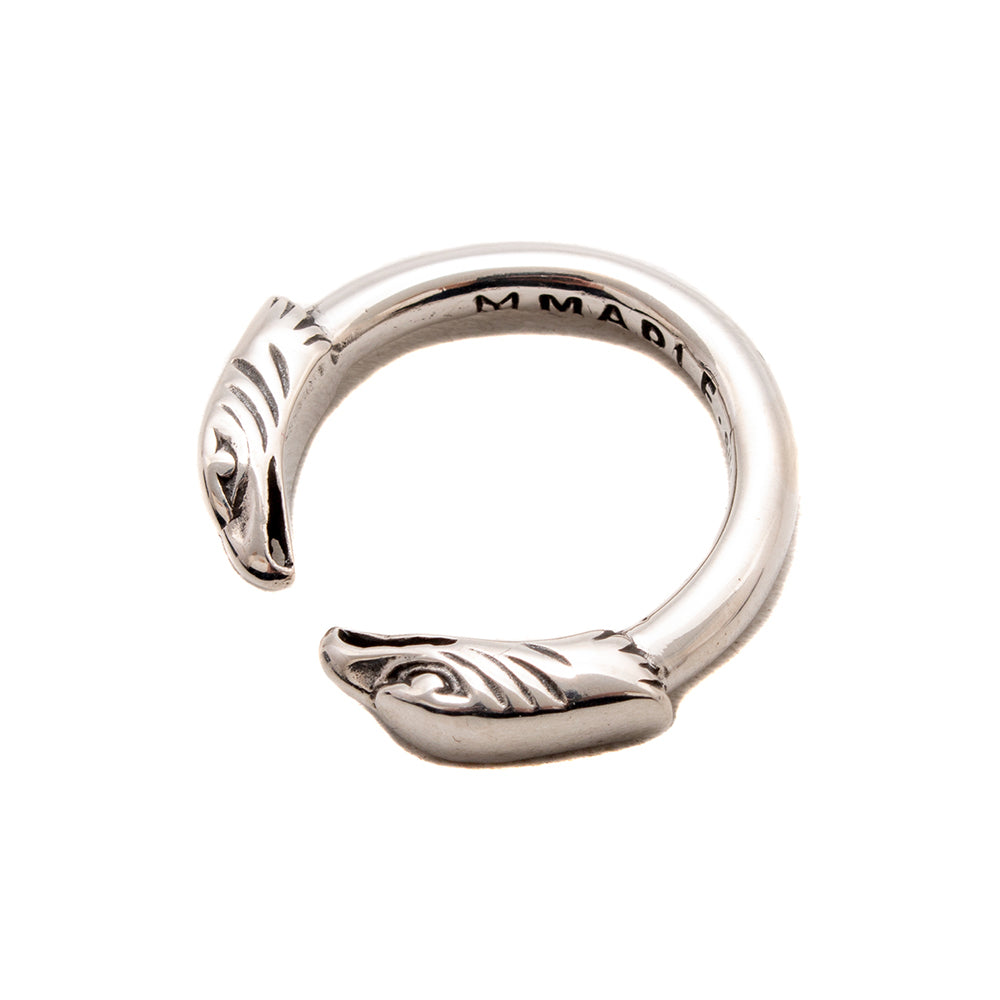 MAPLE Eagle Head Ring / Silver 925