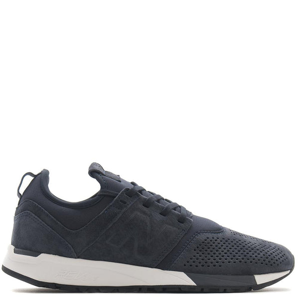 New Balance MRL247LN Suede Navy / White - Deadstock.ca