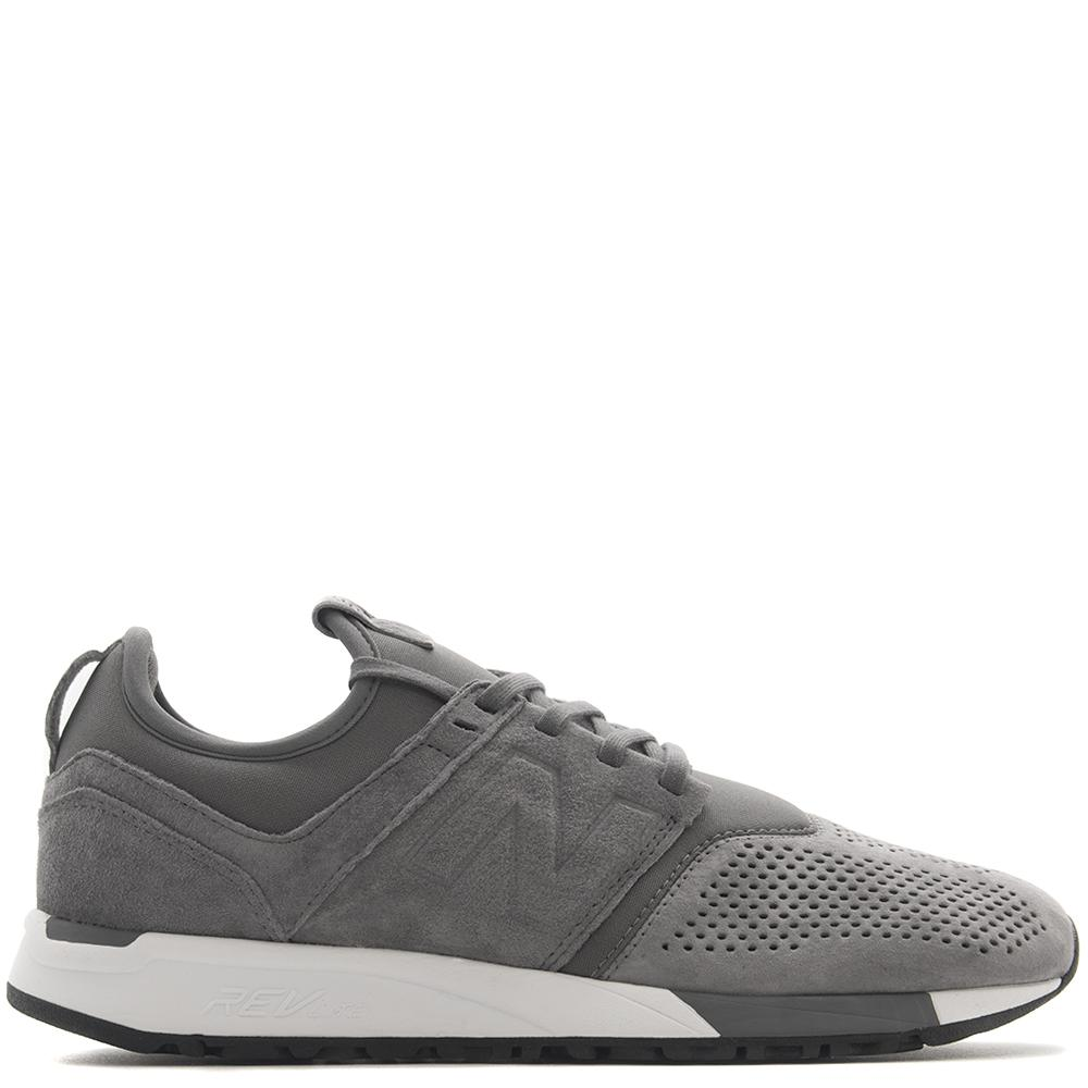 style code MRL247LY. NEW BALANCE MRL247LY SUEDE GREY / WHITE