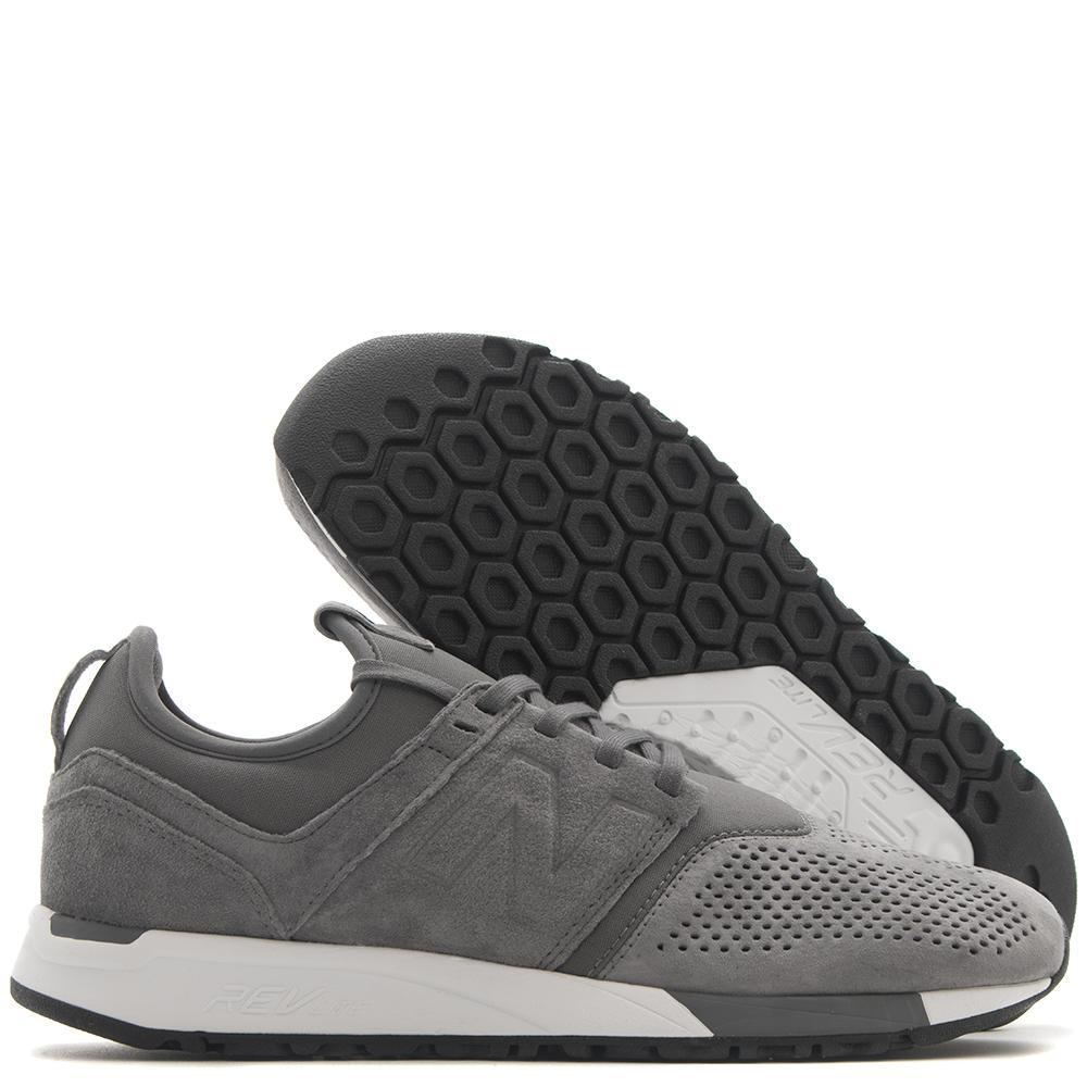 NEW BALANCE MRL247LY SUEDE GREY / WHITE