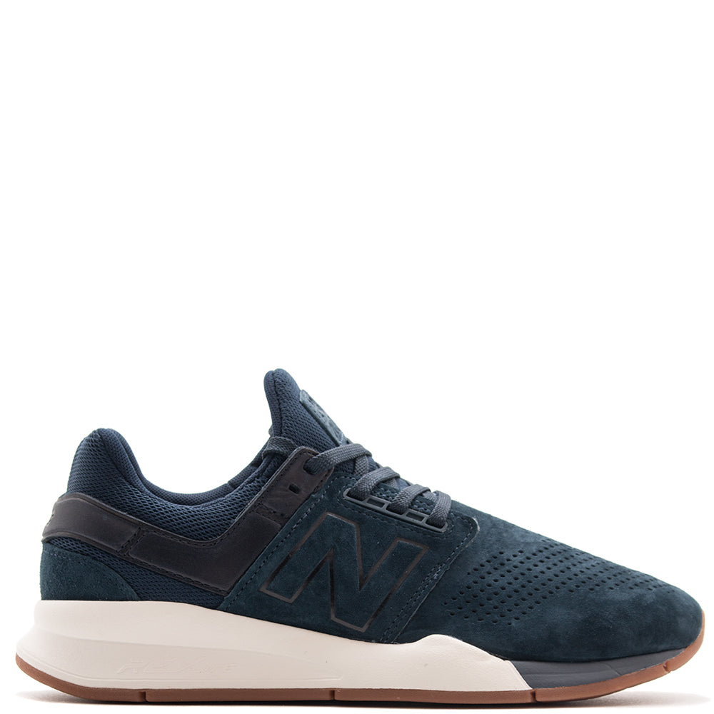 Style code MS247LT. New Balance MS247LT Luxe Leather / Galaxy