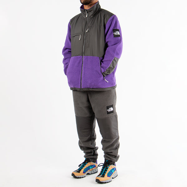 The North Face Black Box Denali Fleece Zip Up / Tillandsia Purple