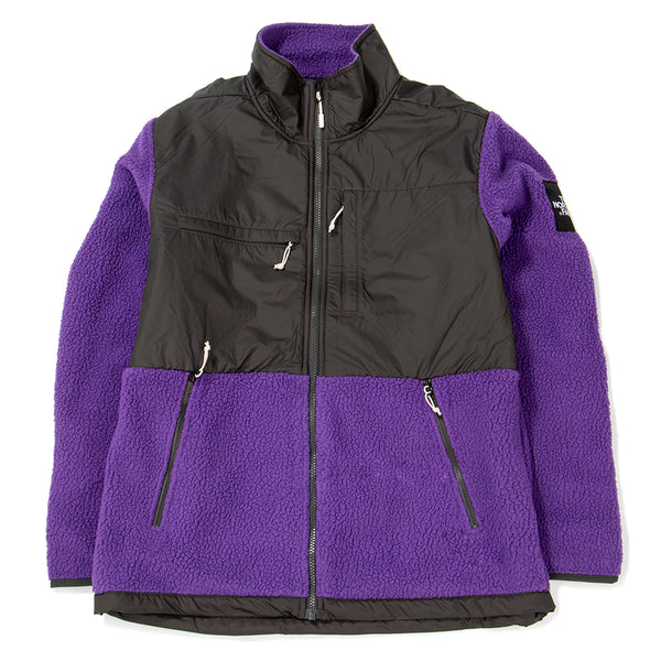 Style code NF0A381M6LK. The North Face Black Box Denali Fleece Zip Up / Tillandsia Purple