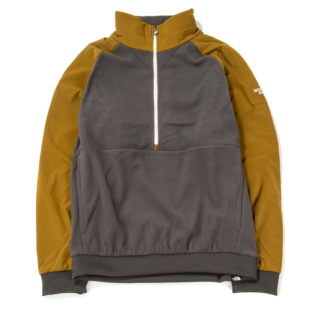 Style code NF0A3L2H6JQ. The North Face Black Box Extreme 1/4 Zip Fleece / Asphalt Grey