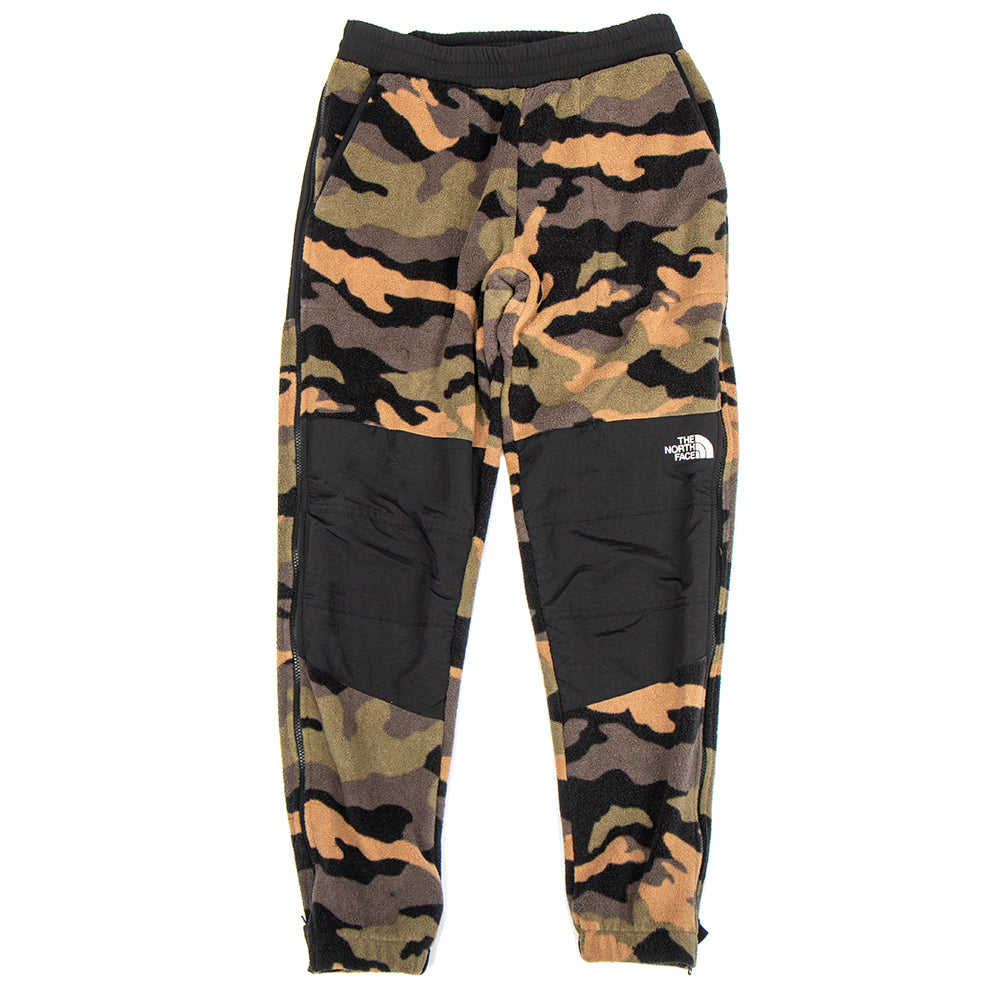 The North Face 95 Retro Denali Pant / Burnt Olive Green Woods Camo - Deadstock.ca