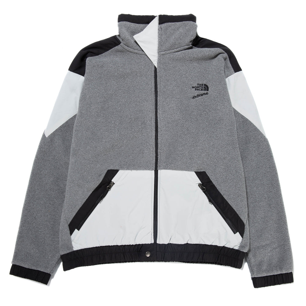 The North Face 90 Extreme Fleece Full Zip Jacket / TNF Mid Grey