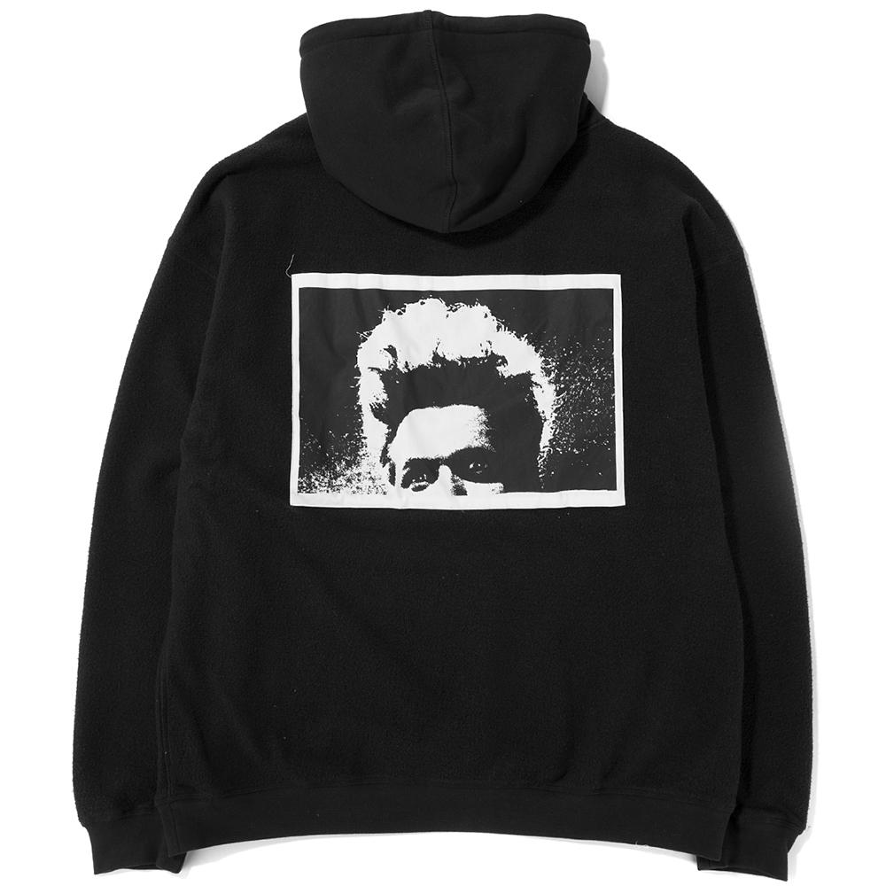 Style code P17W102001. Pleasures Madness Reverse Pullover Hoodie / Black