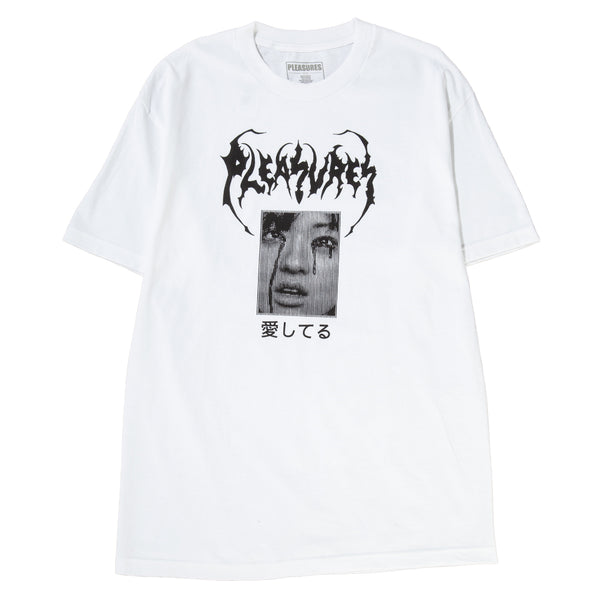 Style code P18F101020W. Pleasures Lonesome Again T-shirt / White
