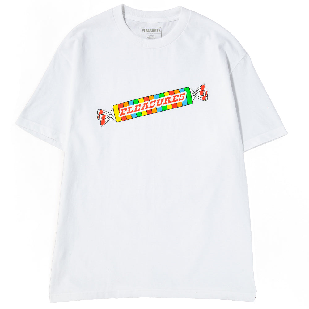 Style code P18S101008W. Pleasures Sweet Tooth T-shirt / White