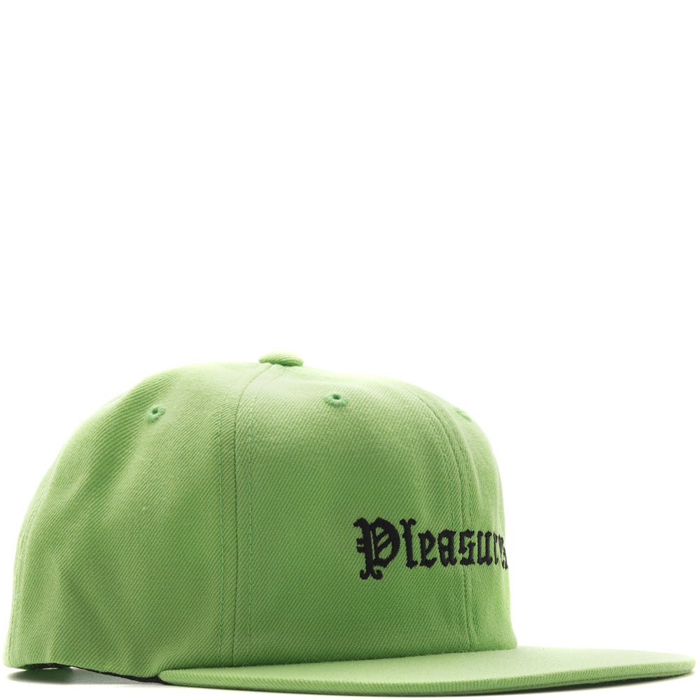 Pleasures Violence Hat / Lime - Deadstock.ca