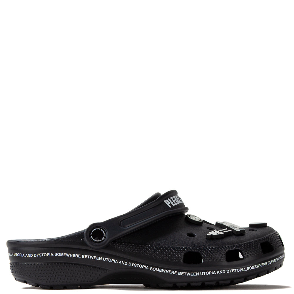 Pleasures Utopia Crocs / Black - Deadstock.ca