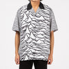 Pleasures x Joy Division Waves Short Sleeve Button Up / White